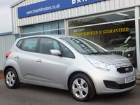 2013 KIA VENGA 2  1.6  5d AUTOMATIC (13000mls) Air cond. Alloys. £7895.00