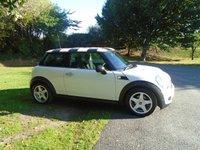2010 MINI HATCH ONE 1.6 ONE 3d 98 BHP £SOLD