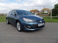 USED 2013 13 VAUXHALL ASTRA 2.0 ELITE CDTI 5d AUTO 163 BHP BLUE LOW MILEAGE