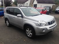 USED 2008 08 NISSAN X-TRAIL 2.0 SPORT EXPEDITION DCI 5d 148 BHP PRICE INCLUDES A 6 MONTH RAC WARRANTY, 1 YEARS MOT AND A OIL & FILTERS SERVICE AND 12 MONTHS FREE BREAKDOWN COVER.
