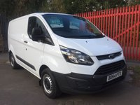 2014 FORD TRANSIT CUSTOM 2014 2.2 290 LR 100 BHP ELECTRIC PACK LOW MILES 6 SPEED ONE OWNER £10495.00