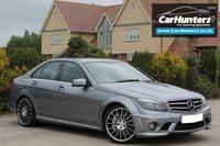 USED 2010 10 MERCEDES-BENZ C CLASS 6.2 C63 AMG 4d 451 BHP Great Spec & Only 26,000 Miles