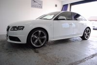 2011 AUDI A4 2.0 TDI S LINE BLACK EDITION 4d 134 BHP £12695.00