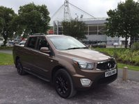 2016 SSANGYONG MUSSO 2.2 EX Auto  £16975.00