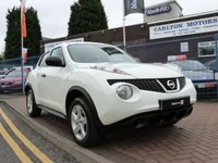 2010 NISSAN JUKE 1.6 VISIA 5 DOOR HATCH 117 BHP £7495.00