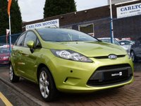 2008 FORD FIESTA 1.4 STYLE PLUS 5d  £4995.00