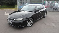 2008 SUBARU IMPREZA 2.0 RX 5d AUTO 150 BHP £5995.00