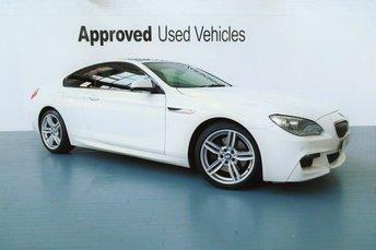 2014 BMW 6 SERIES 3.0 640D M SPORT 2d AUTO 309 BHP £28950.00