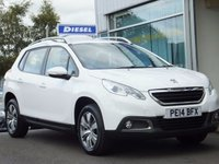 2014 PEUGEOT 2008 1.4 HDi ACTIVE 5d (11,000 mls.) Air cond/Cruise £9895.00