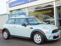 2013 MINI HATCH ONE 1.6i 3dr (SPORT CHILI) 8000 mls.only £8695.00