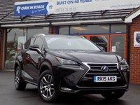 2015 LEXUS NX 2.5 300H LUXURY AUTO (153) * Convenience Pack * £26999.00