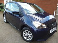 2014 SEAT MII 1.0 TOCA 3d 59 BHP Sat Nav & Bluetooth Included £5365.00