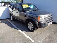 2008 LAND ROVER DISCOVERY 2.7 3 TDV6 SE 5d AUTO 188 BHP £12975.00