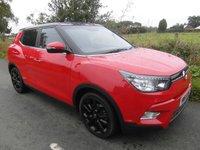 2015 SSANGYONG TIVOLI  1.6 ELX 5d AUTO 126 BHP £13995.00