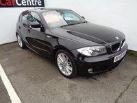 2010 BMW 1 SERIES 2.0 118D M SPORT 5d 141 BHP £8975.00