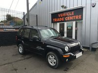 2004 JEEP CHEROKEE 2.5 LIMITED CRD 5d 141 BHP £2499.00