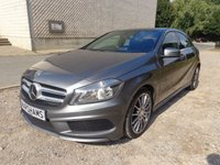 2014 MERCEDES-BENZ A CLASS 2.1 A220 CDI BLUEEFFICIENCY AMG SPORT 5d AUTO 170 BHP £18990.00