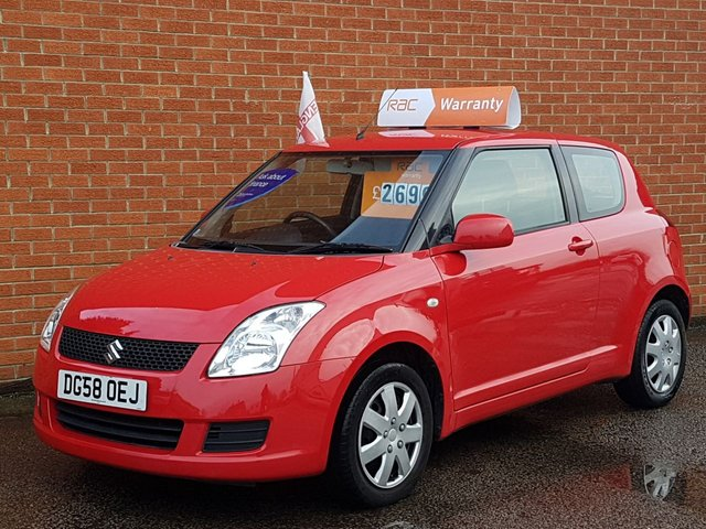 2008 58 SUZUKI SWIFT 1.3 GL  ** FULL MOT **