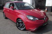 2015 MG 3 1.5 3 STYLE LUX VTI-TECH 5d 106 BHP £7000.00