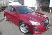 2013 CHEVROLET CRUZE 1.8 LTZ 5d AUTO 139 BHP £8000.00