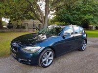2012 BMW 1 SERIES 2.0 118D SPORT 5d 141 BHP £11750.00