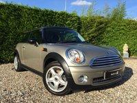 2007 MINI HATCH COOPER 1.6 COOPER 3d 118 BHP £4990.00