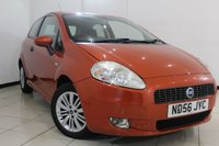 USED 2006 56 FIAT GRANDE PUNTO 1.4 ACTIVE SPORT 3d 77 BHP FULL SERVICE HISTORY + AIR CONDITIONING + MULTI FUNCTION WHEEL + RADIO/CD + ALLOY WHEELS
