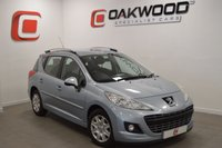 USED 2011 11 PEUGEOT 207 HDI SW ACTIVE SERVICE HISTORY + 2 KEYS
