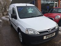 USED 2011 11 VAUXHALL COMBO VAN 1.2 1700 CDTI 3 DOOR 73 BHP CORSA COMBO VAN IN IMMACULATE CONDITION WITH A NEW MOT. APPROVED CARS ARE PLEASED TO OFFER THIS VAUXHALL COMBO VAN 1.2 1700 CDTI 3 DOOR 73 BHP IN WHITE WITH GREY INTERIOR,POWER STEERING,CENTRAL LOCKING,WHEEL TRIMS AND THE REAR OF THE VEHICLE HAS BEEN RACKED OUT AND PLY LINED THE VAN HAS A GOOD SERVICE HISTORY AND IS IN GREAT CONDITION AND THERE IS NO VAT ON THIS VAN