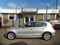 2009 BMW 1 SERIES 2.0 118D SPORT 5d 141 BHP £6880.00
