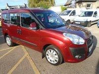 2012 FIAT DOBLO 1.6 MULTIJET MYLIFE DUALOGIC 5d AUTO 90 BHP, 7 SEATER £6999.00