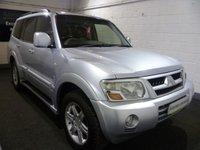 2004 MITSUBISHI SHOGUN 3.2 EQUIPPE WARRIOR LWB DI-D 5d AUTO 159 BHP £5000.00