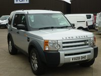 2009 LAND ROVER DISCOVERY 2.7TDV6 3 COMMERCIAL XS AUTO 188 BHP 1 Owner FSH only 77K Miles £12495.00
