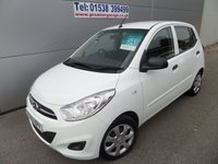 2013 HYUNDAI I10 1.2 CLASSIC 5d 85 BHP AIR CON, CHEAP TAX LOW INSURANCE £5495.00
