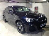 2015 BMW X4 2.0 XDRIVE20D M SPORT 4d AUTO 188 BHP £35500.00