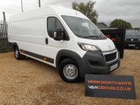 2016 PEUGEOT BOXER 2.0 130 BLUE HDI (EURO6) 435 L4 H2 PROFESSIONAL *CHOICE OF 2* £15790.00