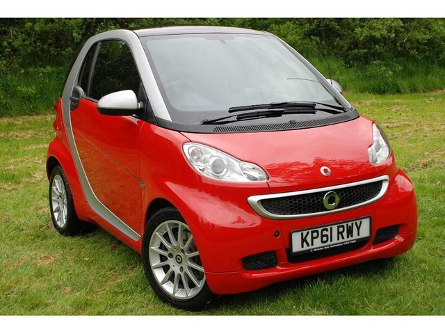 2011 61 SMART FORTWO 1.0 MHD Passion Softouch 2dr