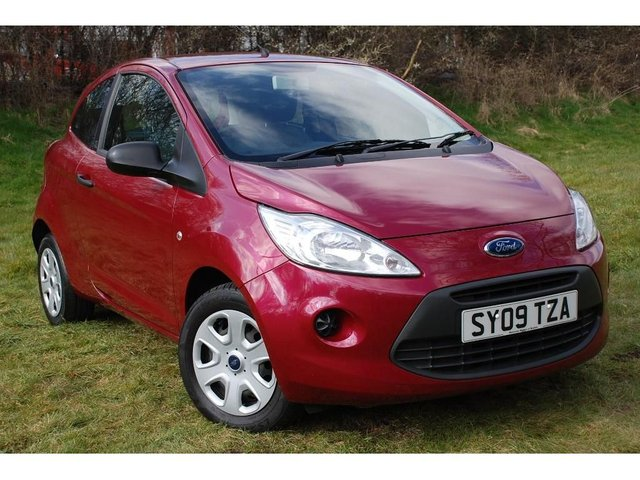 2009 09 FORD KA 1.2 Studio 3dr
