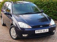 2002 FORD FOCUS 1.8 GHIA TDCI 5d 116 BHP £990.00