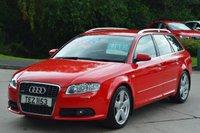 2008 AUDI A4 2.0 TDI S LINE TDV 5d 140 BHP**1 OWNER** £7995.00