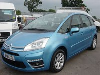 2011 CITROEN C4 PICASSO 1.6 VTR PLUS 16V 5d 118 BHP FULL SERVICE HISTORY ONLY 41000 MILES £5995.00