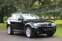 2008 BMW X3 2.0 D M SPORT 5d 175 BHP £8490.00
