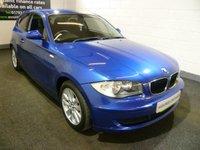 2008 BMW 1 SERIES 2.0 118D ES 3d 141 BHP £4500.00