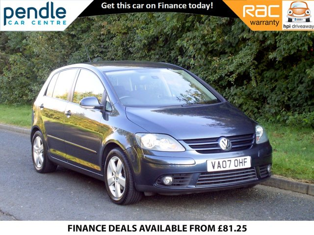 2007 07 VOLKSWAGEN GOLF PLUS 2.0 GT TDI 5d 138 BHP