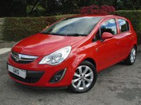 2012 VAUXHALL CORSA 1.4 ACTIVE AC 5d 98 BHP - ONLY 14,000 MILES! £6295.00