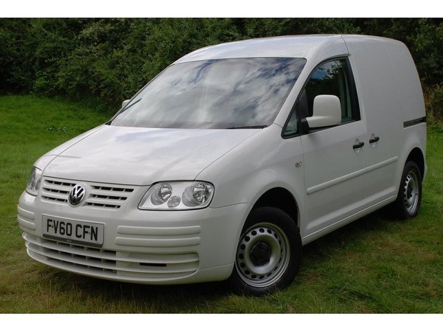 2010 60 VOLKSWAGEN CADDY 1.9 TDI PD C20 Panel Van 4dr
