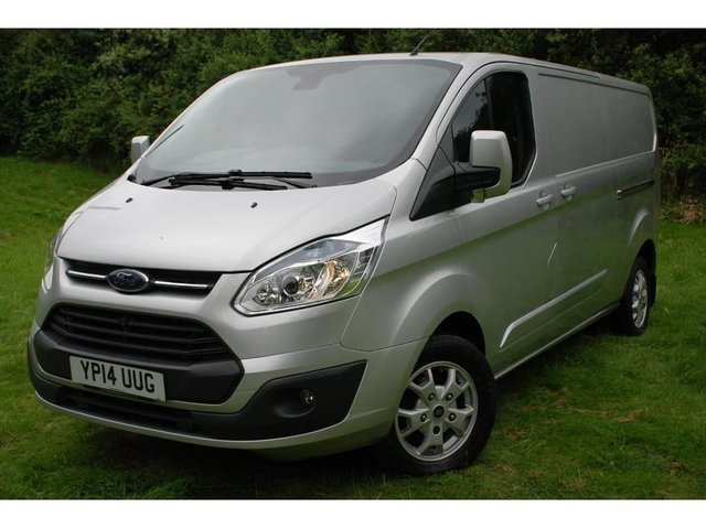 2014 14 FORD TRANSIT CUSTOM Ford Transit Custom 2.2 TDCi 290 L2H1 Limited 3dr