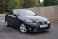 2013 LEXUS IS 2.5 300H SE 4d AUTO 220 BHP £12950.00