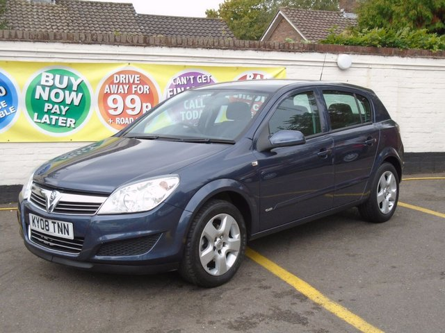 2008 08 VAUXHALL ASTRA 1.6 CLUB 5d 115 BHP Choice of 4 In Stock