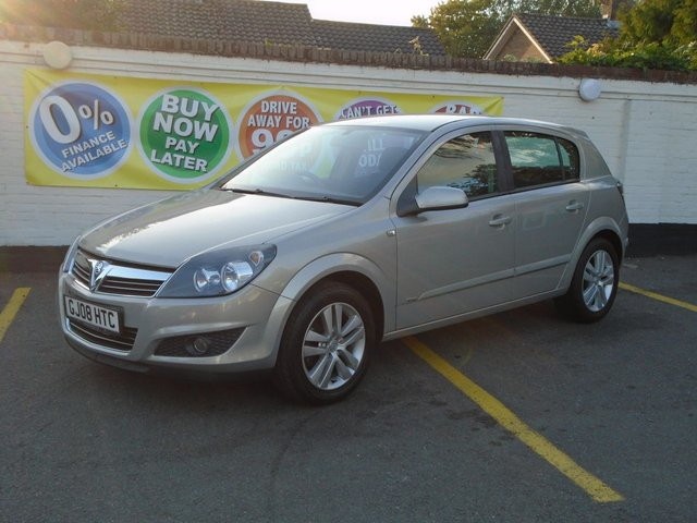 2008 08 VAUXHALL ASTRA 1.6 SXI 5d 115 BHP Choice of 4 In Stock
